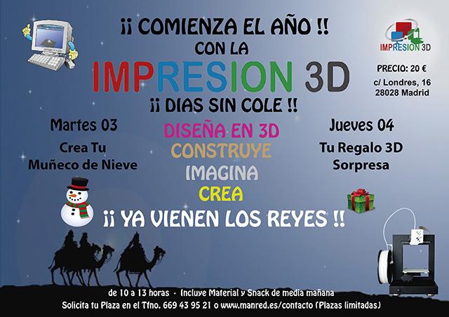 Impresión 3D para los Reyes Magos