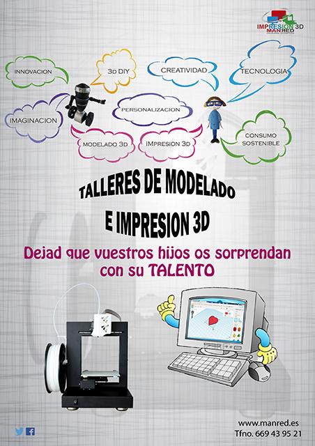 Portada Talleres Impresion 3D