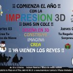Taller Reyes Magos Impresion 3D