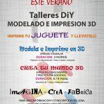 Talleres Impresion 3D Verano