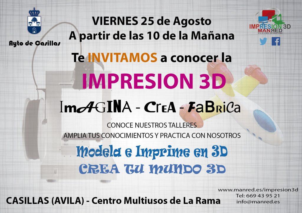 Impresión 3D en Casillas