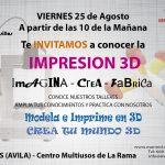 Impresion 3D en Casillas