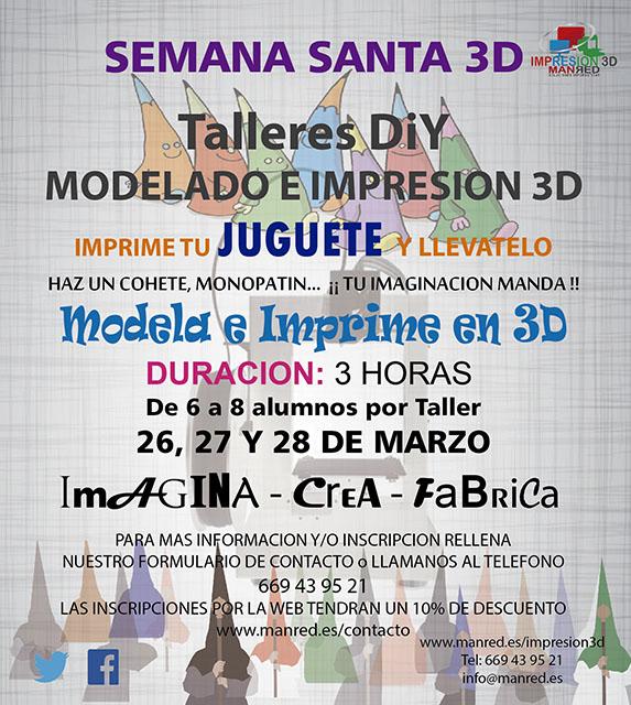 Cartel Impresion 3D