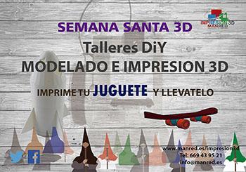 Impresion 3D en Semana Santa