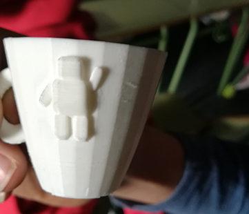 Tazas y ... Imprimiendo en 3D